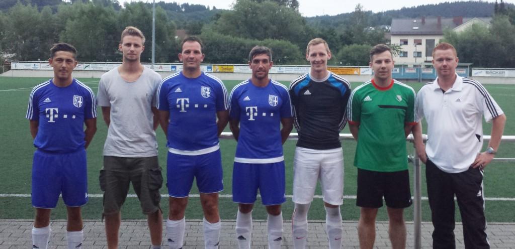 Erste Mannschaft erfolgreich in die Saisonvorbereitung gestartet – 7 Neue