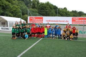 Gruppenbild F-Jugend