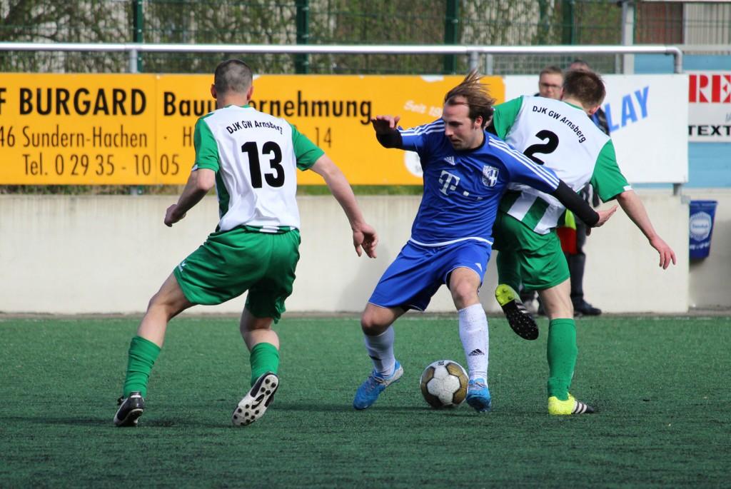 1. Mannschaft verliert unverdient am Schreppenberg