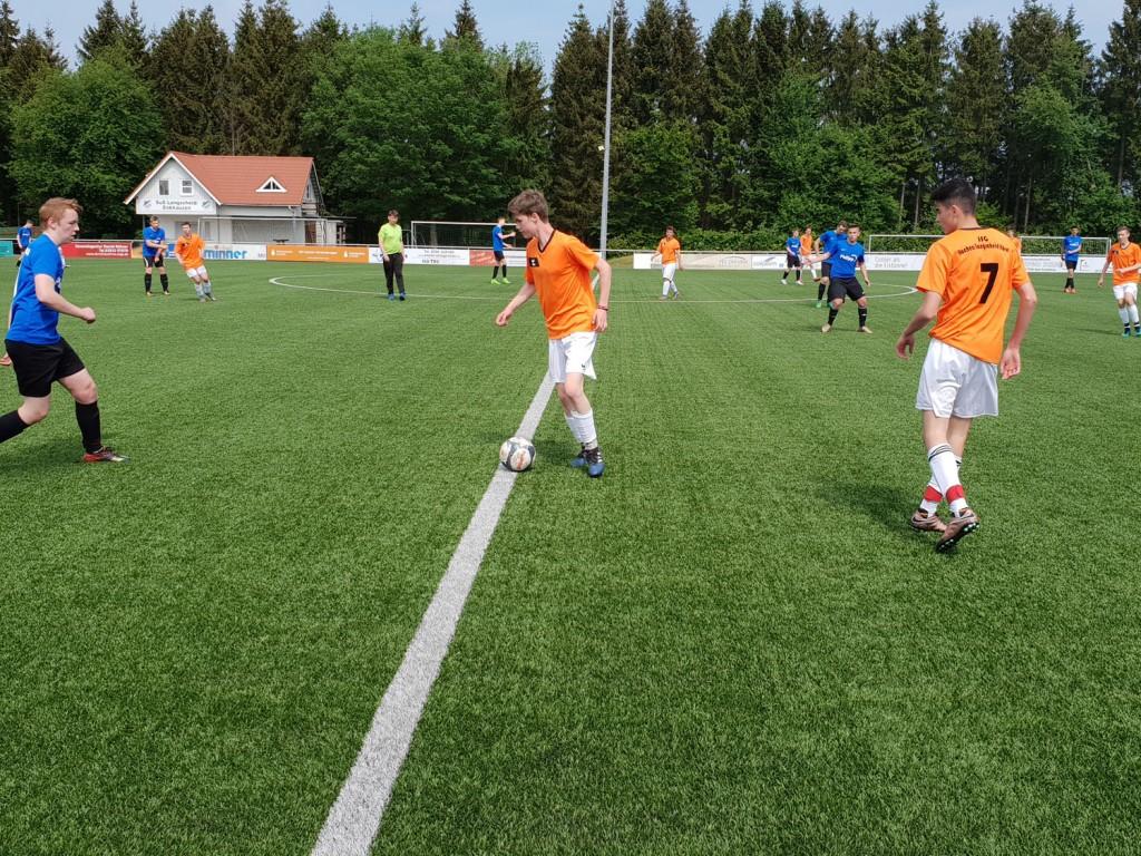 U17 mit Kantersieg im letzten Heimspiel