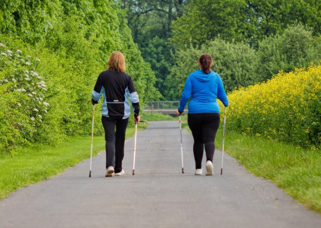 Nordic Walking Angebot des TuS Hachen