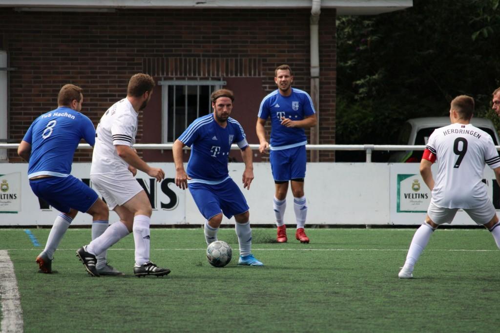 Kreisfreundschaftsspiel TuS Hachen - SG Herdringen-Müschede III 11.08.2019 0018