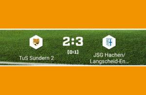 A-Jugend gewinnt Derby gegen den TuS Sundern mit 3:2